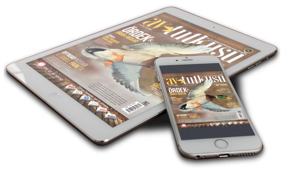 Av Tutkusu Dergisi Dijital ve Mobil Platformlarda